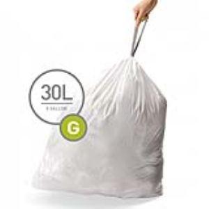 Simplehuman Boîte distributrice de 100 sacs poubelles taille G