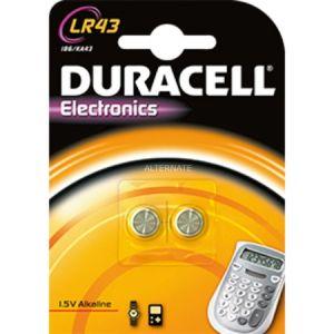 Duracell 2 piles LR43