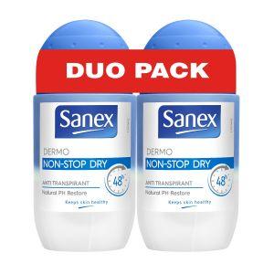 Sanex Dermo non-stop dry - Déodorant anti-transpirant 48h