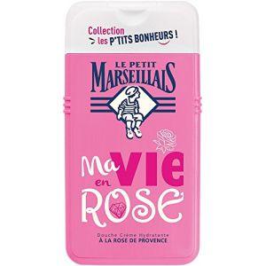 Le Petit Marseillais Collection Les P'tits Bonheurs : Ma Vie en Rose  - Douche crème hydratante