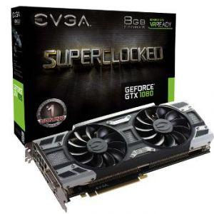Evga 08G-P4-6183-KR - Carte Graphique GeForce GTX 1080 SuperClocked Gaming 8 Go