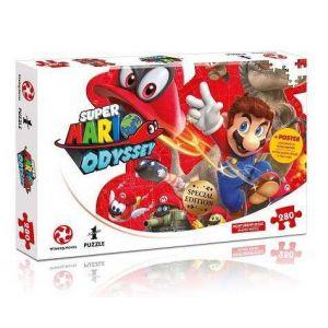 Winning Moves Puzzle 280 pièces Super Mario Bros Odyssey Mario et Cappy