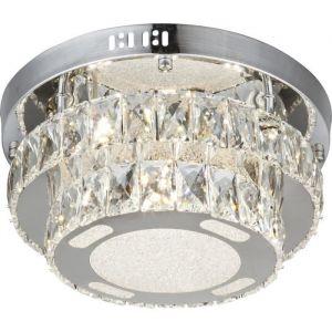 Globo Lighting Plafonnier LED chrome 26,5x32x32cm