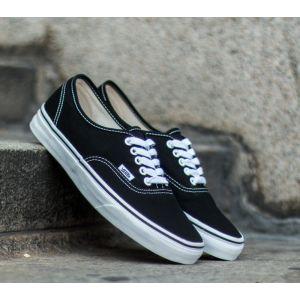 Vans Authentic chaussures noir blanc 38,5 EU 6,5 US