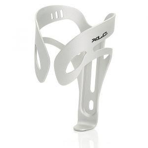 XLC Cage bidon alu BC-A04 (Version: argent matte, SB-plus de forme simple) Porte-bouteille métal pour vélo support bidon