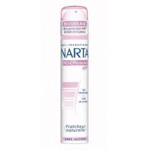 Narta Déodorant spray sans alcool bio-efficacité