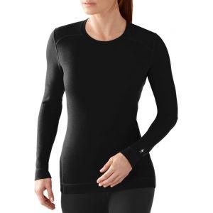Smartwool Nts 250 Crew Sous-vêtement thermique Femme Noir Taille L
