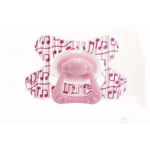 Difrax Sucette Combi grande + anneau en silicone (6 mois +)