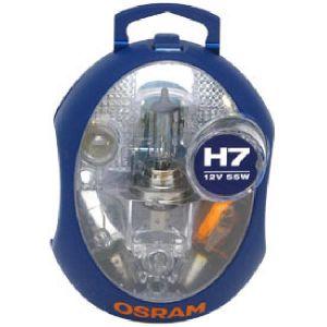 Osram Coffret secours 6 ampoules voiture H7 12 Volts Ref 876375