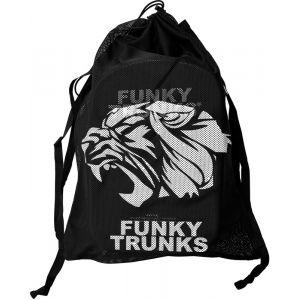 Funky Trunks Mesh Gear Bag - Sac Homme - noir Sacs à dos & Sacs natation