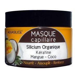 Aquasilice Masque capillaire silicium coco et mangue
