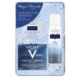 Vichy Coffret Aqualia Spa - Crème légère, soin de nuit et eau thermale minéralisante