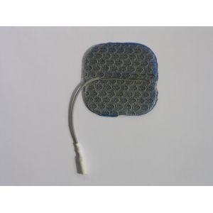 Cefar Compex - Électrodes à fil  Dura-Stick Premium Blue Gel pour peaux sensibles