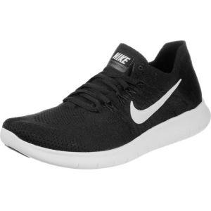 best loved a09b5 37be1 Nike Free Run Flyknit 2017, Chaussures de Running Homme, Noir (Black white