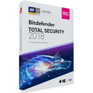 Bitdefender Total Security 2018 pour Windows, Mac OS, Android