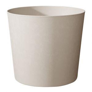 Poetic Pot Element conique de 8,7 L coloris calcaire Ø 25 x 24 cm