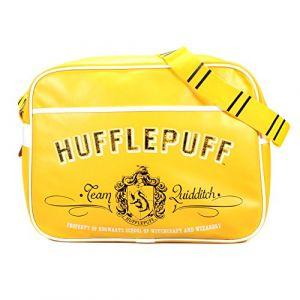 Half Moon Bay Harry Potter Hufflepuff Crest Rétro Sac