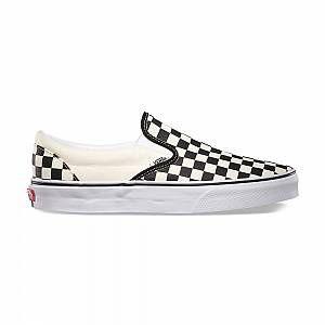Vans Classic Slip on chaussures noir blanc à carreaux 44,0 EU