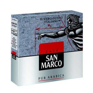 San Marco Café moulu pur arabica - Les 2 paquets de 250g