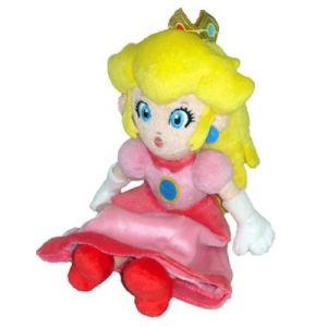 Together Peluche Mario Bros : Princesse Peach 23 cm