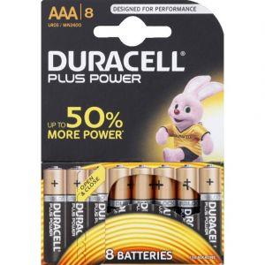 Duracell Piles LR03/AAA Plus Power x8