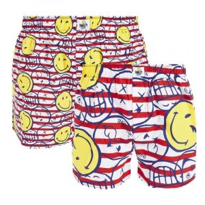 Pomm'Poire Lot de 2 boxers Marine by Smiley