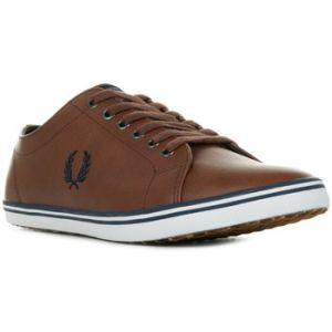 Fred Perry Baskets basses KINGSTON LEATHER Marron - Taille 40,41,42,43,44,45