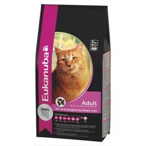 Eukanuba Contrôle du poids - Croquettes pour chat adulte