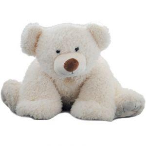 Histoire d'ours Peluche Pat'ours blanc (90 cm)