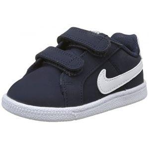 Nike Court Royale (TDV), Chaussons Mixte Bébé, Bleu (Obsidian/White 400), 22 EU
