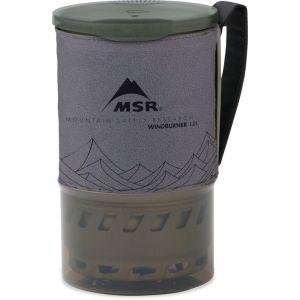 MSR WindBurner Personal Accessory Pot Gray Matériel de Cuisine