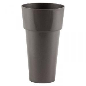 Pot haut rond en plastique Ø10 x 18 cm