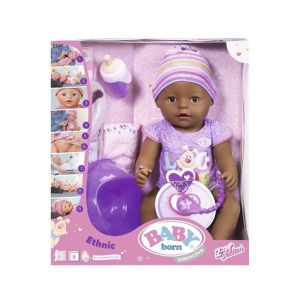 Image de Zapf Creation Poupée interactive Baby Born Ethnic