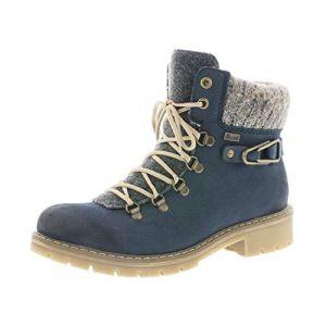 Rieker Boots Y9131-16 bleu - Taille 36,37