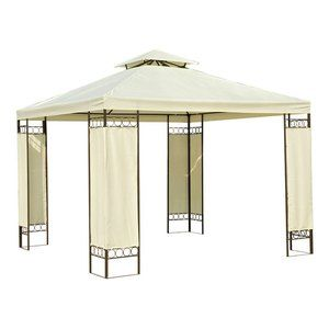 Image de BC-Elec Tente de Réception 3 x 3 M - Pavillon de Jardin Beige