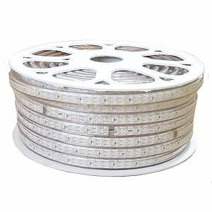 Ruban LED 220V 1M-50M SMD2835 180LED/m IP65 (vendu sur mesure) - couleur eclairage : Blanc Chaud 2300K - 3500K