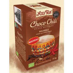 Yogi Tea Choco Chili (Épice Aztèque) - Infusion ayurvédique Bio d'épices