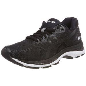 Asics Gel-Nimbus 20, Chaussures de Running Femme - Noir (Black/White/Carbon 9001), 39.5 EU