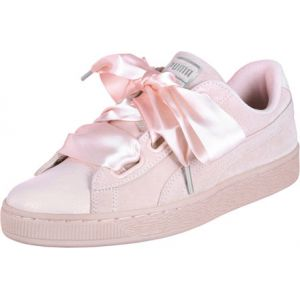 Puma Suede Heart Bubble Wn's, Sneakers Basses Femme, Rose (Pearl-Pearl), 38.5 EU