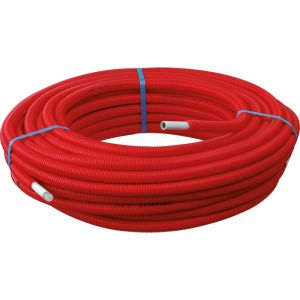 Toolstation 50m Tube Multicouche Ø20x2,0 Prégainé Rouge SOMATHERM