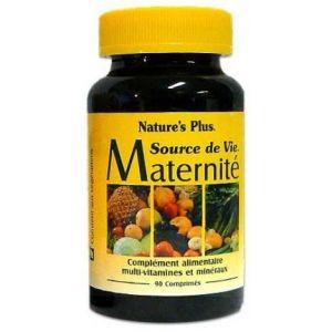 Nature's Plus Source de vie Maternité 90 comprimés
