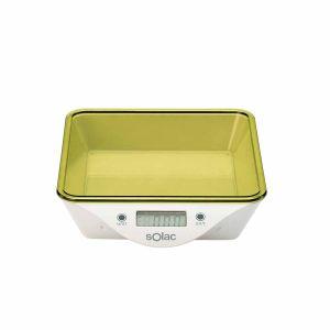 Solac BC6260 - Balance de cuisine électronique rectangulaire avec récipient