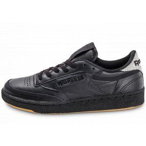 Reebok Club C 85 Diamond, Chaussures de Fitness Femme, Multicolore (Black/Gum), 36 EU