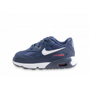 Nike Chaussures enfant Air Max 90 Mesh he Bébé bleu - Taille 21,19 1/2