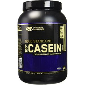 Optimum nutrition 100% casein protein (896g) biscuits et crème