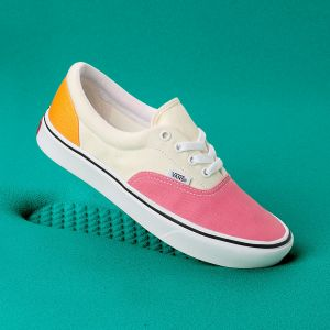 Vans Chaussures En Toile Comfycush Era ((canvas) Strawberry Pink/zinnia) Femme Rose, Taille 38
