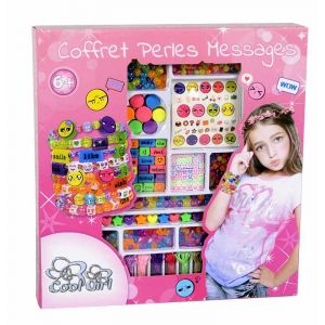 Cool girl Coffret perles messages