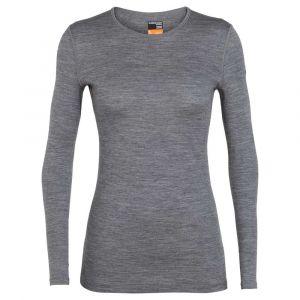 Icebreaker T-shirts 200 Oasis Crewe L Gritstone Heather L - Gritstone Heather - Taille L