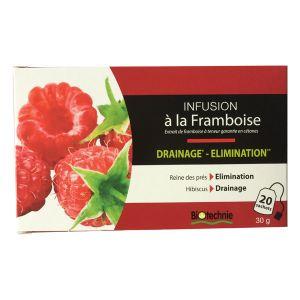 Biotechnie Infusion cétones de Framboise Brûleur Draineur x 20 sachets