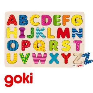 Goki 57672 - Puzzle Alphabet A-Z 26 pièces